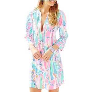 Lilly Pulitzer Sarasota Tunic Dress in Out to Sea